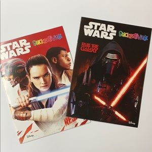 2PCS STAR WARS STICKERTIVITY BOOKS